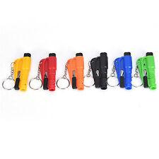 Car Escape Mini Tool Emergency Safety Hammer Keychain Belt Window Break Cutterm7