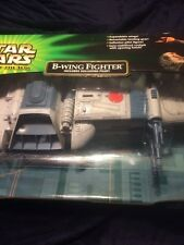 STAR WARS POWER OF THE JEDI B-WING FIGHTER & SULLUSTAN PILOT Sealed New Potj