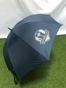 NEW OFFICIAL 2018 RYDER CUP SINGLE CANOPY GOLF UMBRELLA / BROLLEY