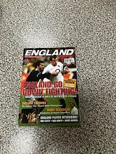 England Rugby World Cup issue 34 Official Team Souvenir Magazine
