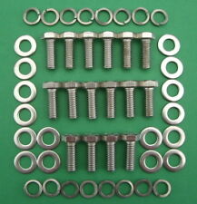 FORD 429 - 460 big block, exhaust headers in stainless steel hex head bolts