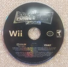 WWE Smackdown vs Raw 2009 fet. ECW - Wii (DISC ONLY)