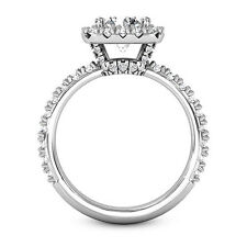 2.50 CT ROUND CUT F/SI1 DIAMOND HALO ENGAGEMENT RING ENHANCED 14K WHITE GOLD