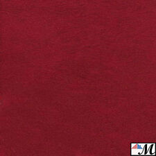 "Microsuede Scotchgard Red Suede Fabric Upholstery 58"" Wide - By the Yard"