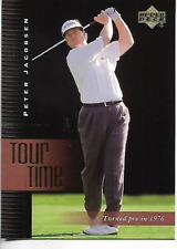 2001 Upper Deck Peter Jacobsen Tour Time Card #182