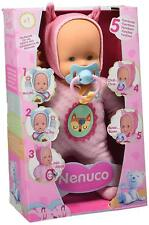 Nenuco Doll, Soft 5 Functions Famous 700013381 Si give its pacifier will make