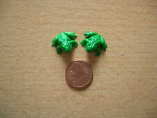 2 green Frogs big Frog 2 Frogs Frog Dollhouse Dollhouse 1:12 Art Da75080