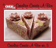 Stanz-/Prägeschablonen Create a box No.5 Cake Torten-Stück Torte CREAlies CCAB05
