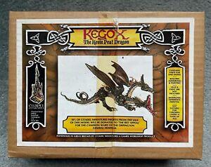 Citadel Metal KEGOX 2 HEADED THE KEVIN PEAT DRAGON UNASSEMBLED ORIGINAL BOX 1985