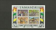 JAMAICA SGMS726-OLYMPIC GAMES SEOUL MINISHEET  MNH