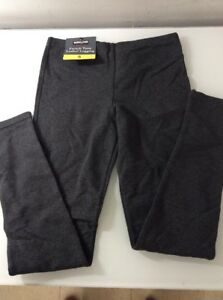 NWT Womens Grey Gray KIRKLAND French Terry Running Legging Pants Size Small