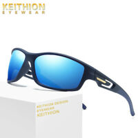 KEITHION TR-90 UV400 Polarized Men Cycling Riding Glasses Sports Sunglasses