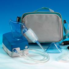 Mobil -Privat- Inhalator, formschön und handlich Inhaliergerät Inhalationsgerät