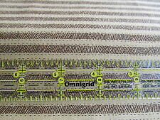 Debbie Mumm cotton fabric half yard cut 1/2 tan light brown primitive stripe