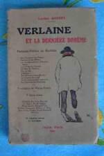 VERLAINE, SA VIE, SON MILIEU.  Biographie illustrée 1947