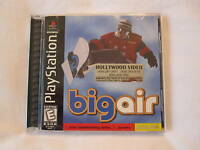 Big Air (PlayStation PS1) Snowboarding Game Complete Nice!