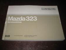 Betriebsanleitung Mazda 323 (Typ BA), Stand 1995