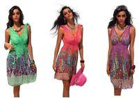 Lotto Stock 10 Vestito Donna Abito SPICY Vestitino B071 Tg S/L  XL/XXL