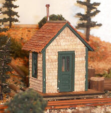 CHELSEA STATION HO HOn3 Model Railroad Structure Unpainted Wood Laser Kit RSL201