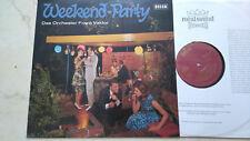 Frank Valdor Weekend-Party * RARE ORIGINALE 60s GOLD TELEFUNKEN LABEL * NM *