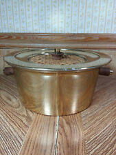 Vintage Georges Briard Brass Pan/Casserole Dish Mcm