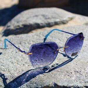 Oversized Womens Ladies Sunglasses Oval Square Black Leopard Flat Top Luxury