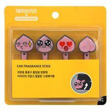 Kakao Talk Friends Cute Characters Car Vent Clip Air Freshener Stick Apeach