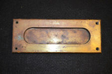 Antique Brass Mail Slot for Door