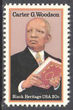 SC#2073 - 20c Carter G. Woodson Single MNH
