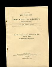 Muir....THE THEORY OF COMPOUND DETERMINANTS FROM 1900 TO 1920