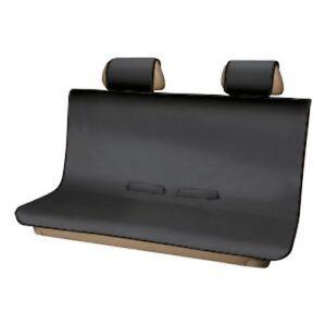 2015-21 GMC SUV Trucks Black Pet Friendly Protective Rear Seat Cover 19354226