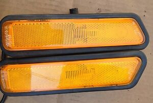 Porsche 944, Turbo & S2 Front side Markers, Left & Right Marker Lights