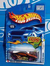 Hot Wheels 2002 First Editions Series #028 Custom Cougar Black w/ ChrPink PR5s