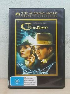 Chinatown DVD China Town 1974 - Jack Nicholson, Faye Dunaway - AUSTRALIA REG 4