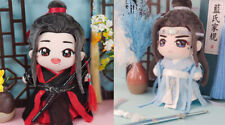 The Untamed Yibo Wuxian Wangji 20cm Doll Clothes Ancient Costume Clothing Sa