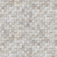 Mosaic Tile Contact Paper Prepasted Wallpaper Vinyl Peel Stick Wallcovering