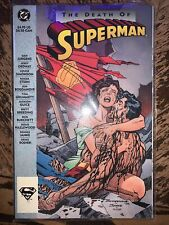 DC Comics The Death Of Superman First Edition