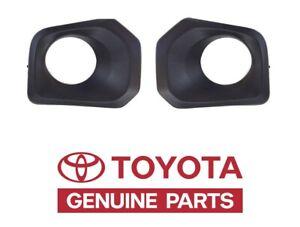 Genuine Toyota Tacoma 2016 - 2019 Outer Fog Light Bezels Standard Lights  OEM OE
