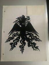 FRANCIS COPPOLAS DRACULA 1992 ORIGINAL STAFF & CREW LIST RARE