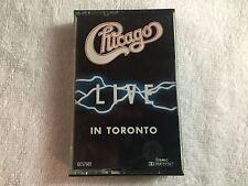 Chicago – Live in Toronto – 1984 Cassette Tape - Golden Circle, Inc.    #5