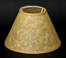 Lampenschirm Pergament Tischleuchte Kronleuchter Nachttischlampe 15 cm E14
