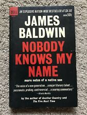 NOBODY KNOWS MY NAME by James Baldwin DELL Books Edition RARE!