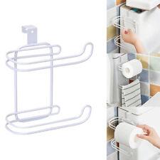 1X Support Porte Papier Toilette Rouleau Dérouleur Papier Hygiène Mural Bain NF