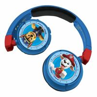 PAW PATROL 2-IN-1 BLUETOOTH & WIRED FOLDABLE HEADPHONES RED/BLUE (HPBT010PA)
