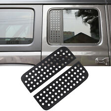 for 2020 2021 Jeep Gladiator JT Rear Door Window Glass Strip Decals Cover Trim
