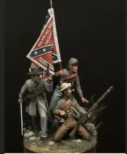 1:32 Confederate Soldiers Resin Model Kit Unassambled Unpainted