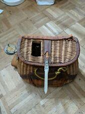 Vintage Fly Fishing Basket Custom