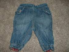 H&M Baby Girls Denim Pants Ruffle Jeans Size 4-6 months EUR 68 Spring Fall