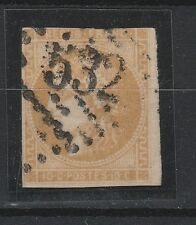 FRANCOBOLLI 1849/50 FRANCIA CERERE C.10 BISTRO GIALLO Z/875
