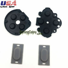 4x Silicone Rubber D-Pad ABXY L R Button Pad For Sony PSP 1000 Handheld Console